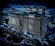 Motel Digital Art Prints - Caesars Palace Print by Steven Richardson