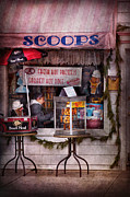 Goods Prints - Cafe - Clinton NJ - The luncheonette  Print by Mike Savad