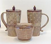 Country Ceramics - Cafe Au Lait -stoneware by Anastasia Verpaelst