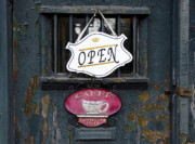 Old Door Photos - Cafe Cappuccino by David Lee Thompson