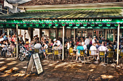Hattiesburg Photo Framed Prints - Cafe Du Monde Framed Print by Brenda Bryant