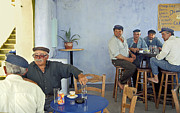 Friends Photos - Cafe in Greece by Madeline Ellis