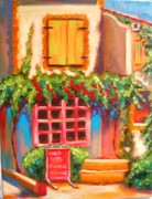Bistro Paintings - Cafe in Vaucluse by Susi Franco