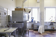 Tiled Prints - Cafe Kitchen Print by Magomed Magomedagaev