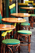 Outdoor Cafe Photo Prints - Cafe Style Print by John Rizzuto