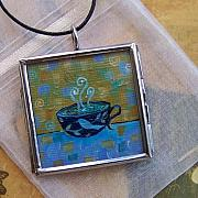 Black Art Jewelry - Cafe Tweet by Dana Marie