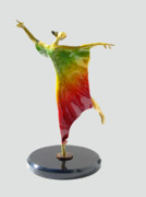 Color Sculpture Originals - Caftan II Mini by Esther Wertheimer