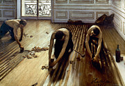 Caillebotte: Planers, 1875 Print by Granger