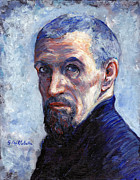 Interpretation Painting Prints - Caillebotte Print by Tom Roderick
