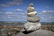 Randall Nyhof - Cairn at North Point on Leelanau Peninsula in Michigan