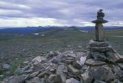 Cairns Prints - Cairn Off Top Of The World Highway Print by Rich Reid