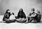 Hijab Metal Prints - Cairo: Natives Metal Print by Granger
