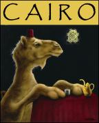 Poster Mixed Media Posters - Cairo... Poster by Will Bullas