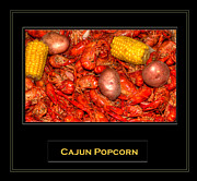 Boiled Crawfish Art - Cajun Popcorn by Barry Jones