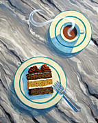 Grab Originals - Cake and Coffee by Nancy Yarnall von Halle