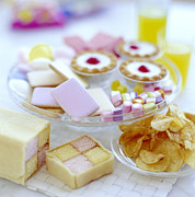 Crisp Prints - Cakes And Sweets Print by David Munns