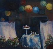 Early Pastels Originals - Cakes and Sweets by Fiona Lau