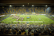 Sports Art Prints - Cal Memorial Stadium on Game Day Print by Replay Photos