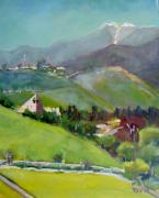 Cal Poly Prints - Cal Poly Pomona Print by Richard  Willson