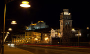 Calahorra Prints - Calahorra Cathedral at night Print by RicardMN Photography