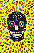 Jf Mondello Metal Prints - Calavera. Metal Print by JF Mondello