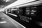 Overnight Framed Prints - Caledonian Sleeper Overnight Sleeper Train From Fort William To London Known As The Deerstalker Scot Framed Print by Joe Fox