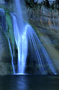 Sights Art - Calf Creek Falls by Bob Christopher