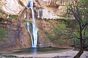 Escalante Grand Staircase Posters - Calf Creek Falls  Poster by Brent Sisson