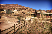 Maggie Framed Prints - Calico Ghost Town Framed Print by Jessica Velasco