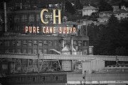 Hawaiian Food Photos - California and Hawaiian Pure Cane Sugar by Cheryl Young