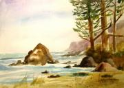 California Coast Print by Larry Hamilton