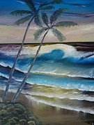 Water Photographs Painting Originals - California Dreaming by Linda Morrison