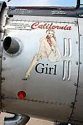 Red Nose Posters - California Girl Poster by Jame Hayes