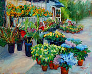 Sausalito Paintings - California Girls by Marie Massey
