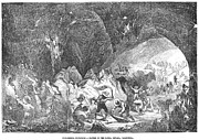 Forty Niner Prints - California Gold Rush, 1859 Print by Granger