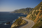 The Main Art - California Highway 1 At Milepost 59 by Greg Probst
