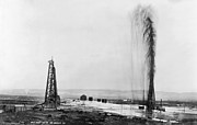 Featured Art - California: Oil Well, 1910 by Granger