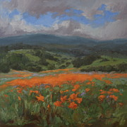 Kristen Olson - California Poppies in...