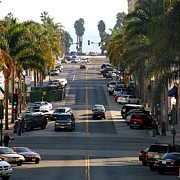 Ventura California Photos - California Street by Henrik Lehnerer