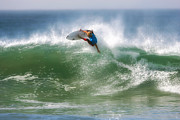 Surfer Photos - California Surfing 1 by Larry Marshall
