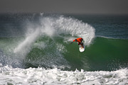 Surf Photos - California Surfing 2 by Larry Marshall