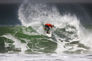 Surf Photos - California Surfing 4 by Larry Marshall