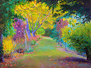 Sonoma Painting Prints - Calistoga Fall Print by Judith Barath