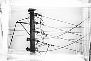 Telephone Wires Framed Prints - Call Me Framed Print by David Ridley