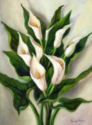 Passing The Time Framed Prints - Calla Lily Framed Print by Randy Burns