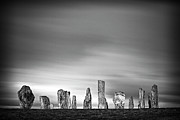 Outer Hebrides Posters - Callanish Standing Stones Poster by Doug Chinnery