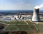 Nuclear Energy Photo Posters - Callaway Nuclear Power Plant Poster by Everett