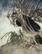 Arthur Rackham - Calling shapes and beckoning shadows dire