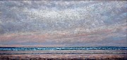 Atlantic Ocean Pastels Metal Prints - Calm Atlantic Surf Metal Print by Bob Richey
