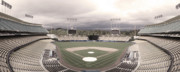 Dodger Stadium Photos - Calm Before The Blue Storrm by Esteban Ramirez